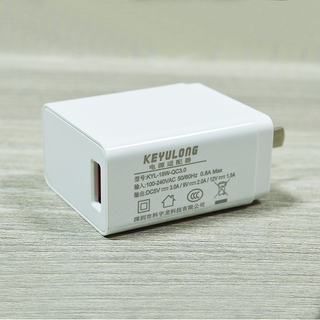 white fast charge head (China)